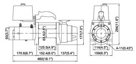 COME.UP WINCH DV-6000S 12V/24V